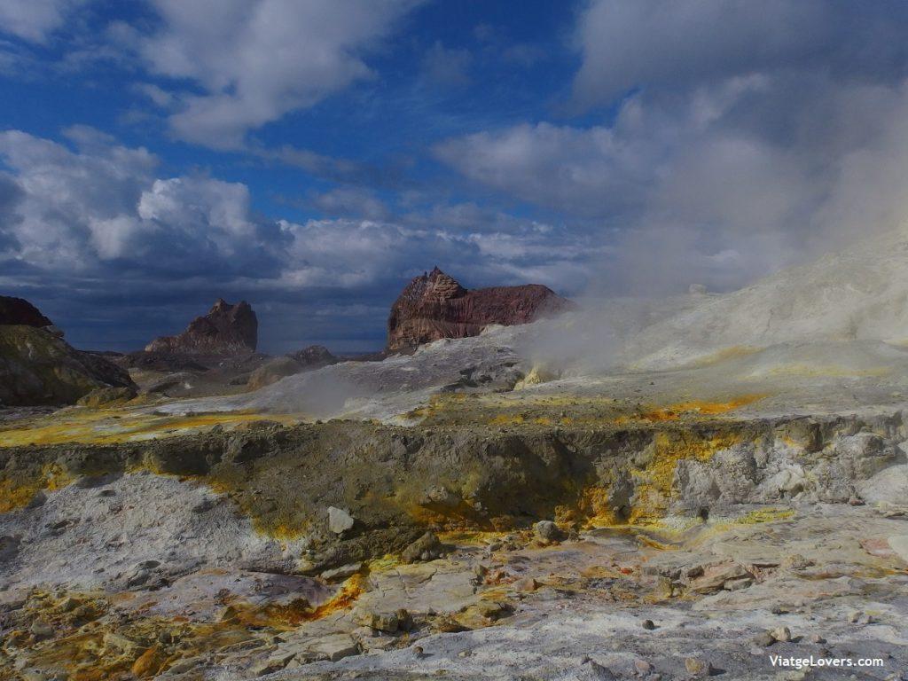 White Island, Nueva Zeland por libre -ViatgeLovers.com