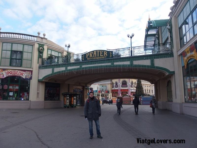 Entrada al parque de atracciones Prater