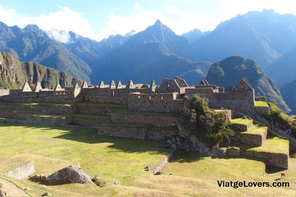 Machu Picchu desde el interior