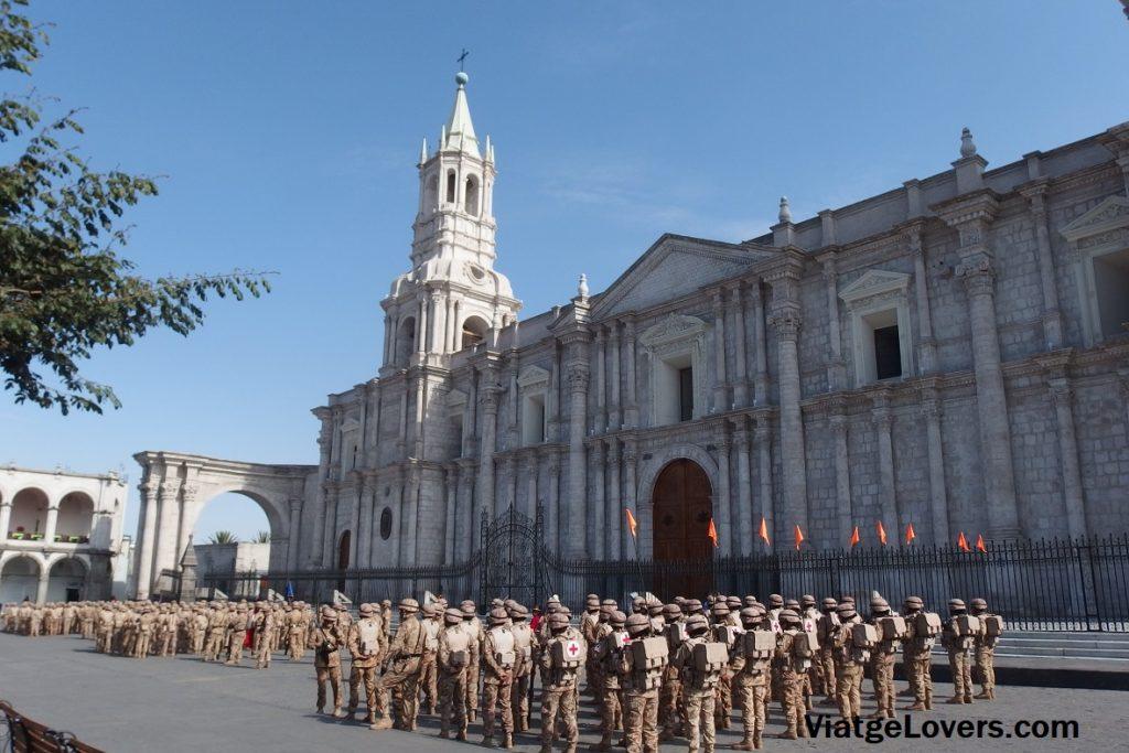 Catedral de Arequipa en Plaza de Armas