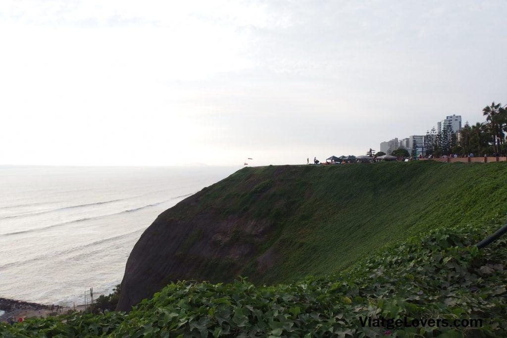 Vistas desde el Malecón de Miraflores