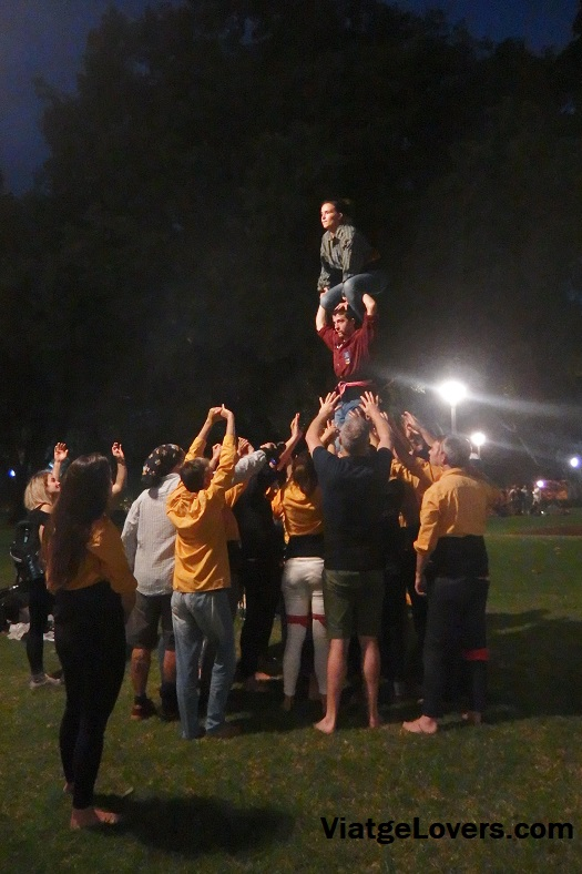 Sydney Human Towers en Hyde Park