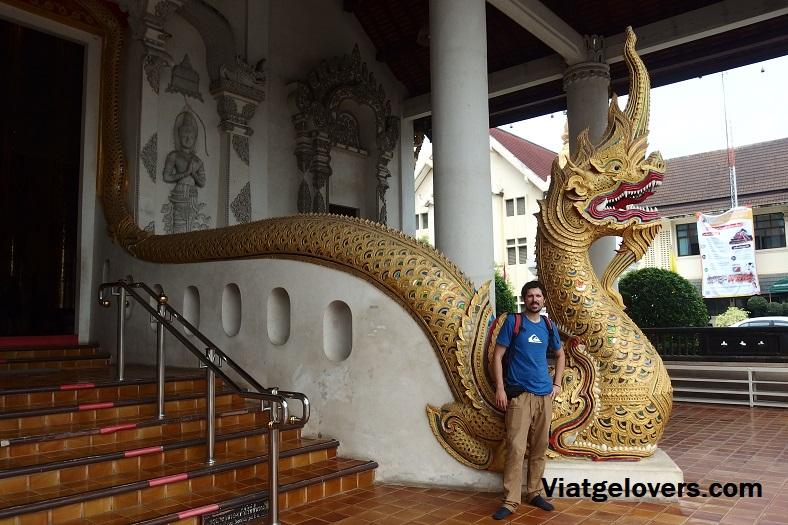 Todas las entradas a los templos tienen al dragón protegiendo el lugar sagrado