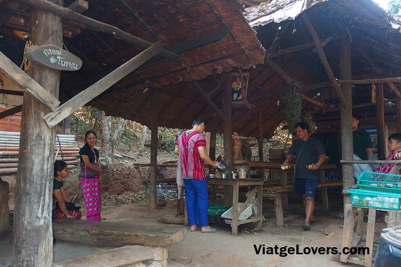 Degustación de café, poblado Karen
