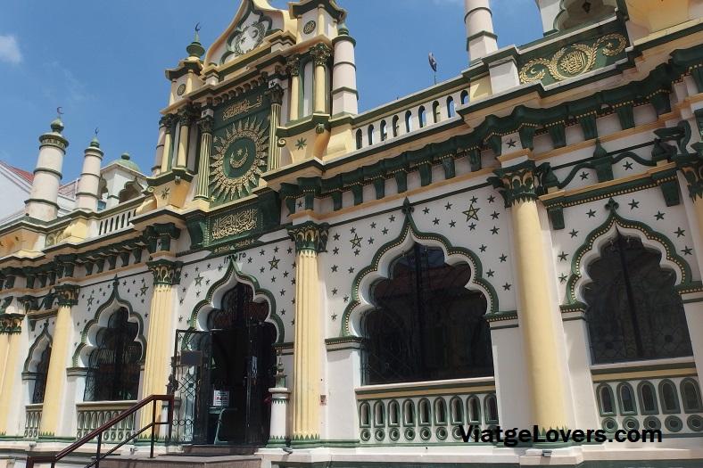 Mezquita Masjid abdul Gafoor. Singapur -ViatgeLovers.com