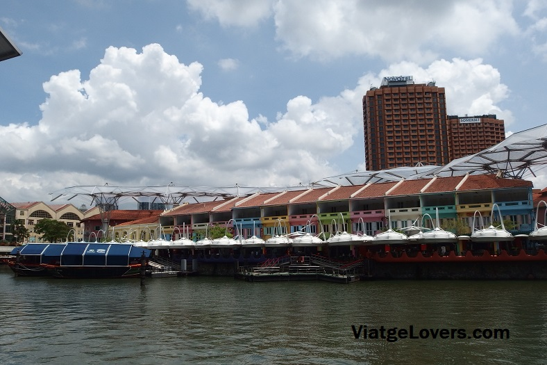 Clarke Quay. Singapur -ViatgeLovers.com