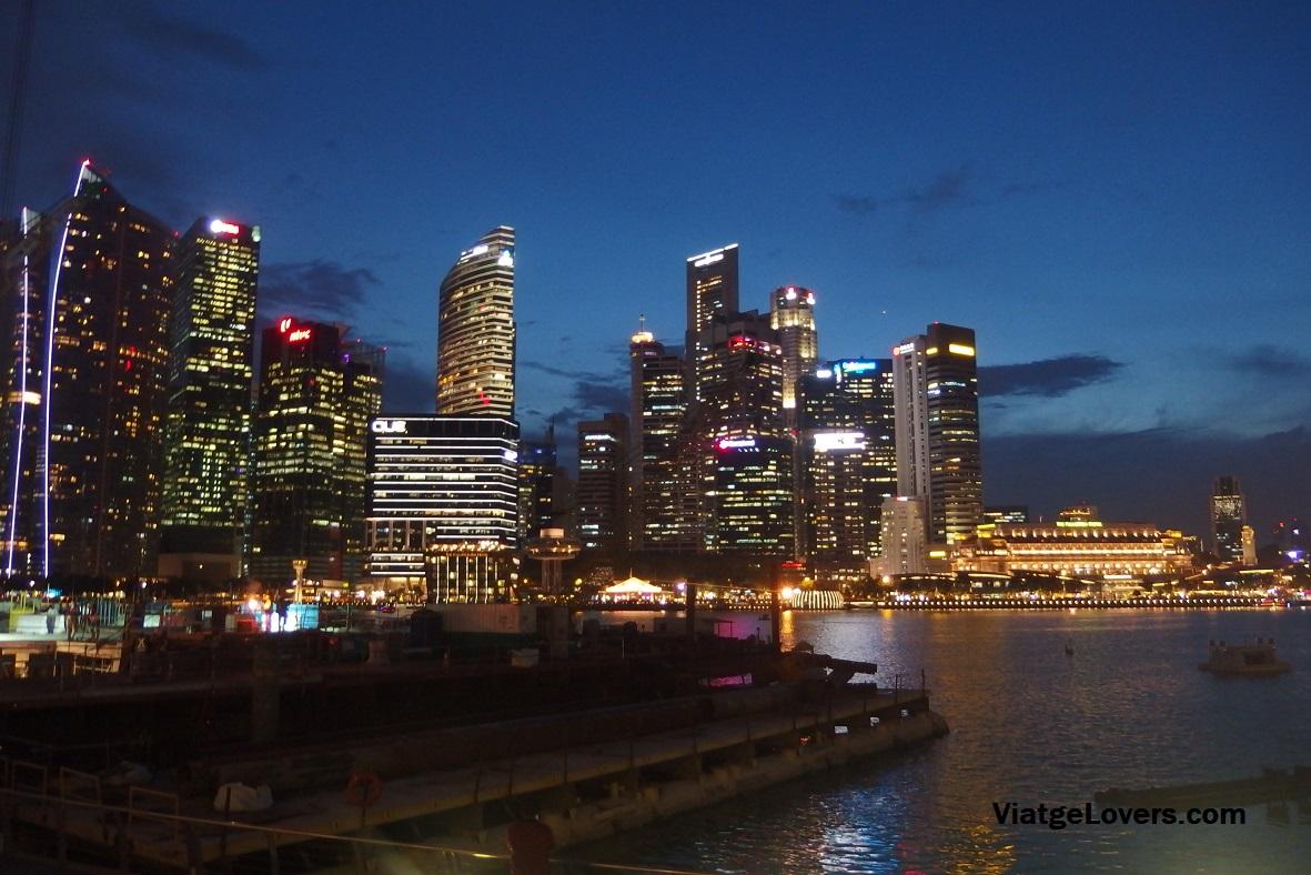 Skyline de Singapur desde Event's Plaza