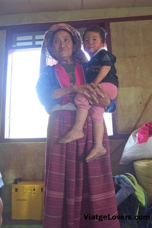 Étnia palung, estado Shan, Myanmar