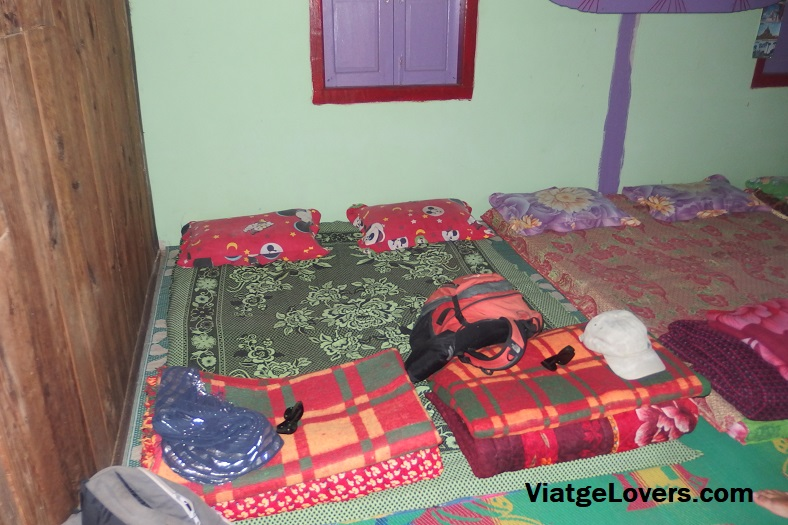 Nuestra cama, todo lujos!