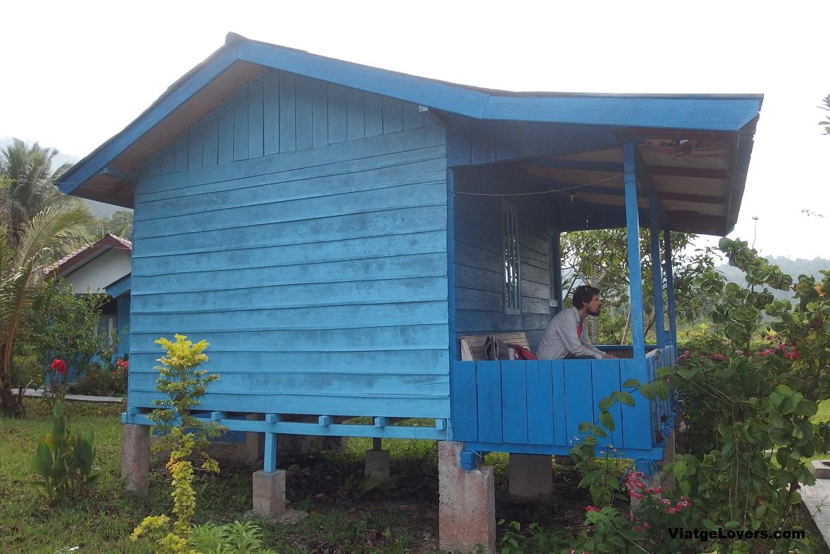 Nuestro alojamiento en Ketambe