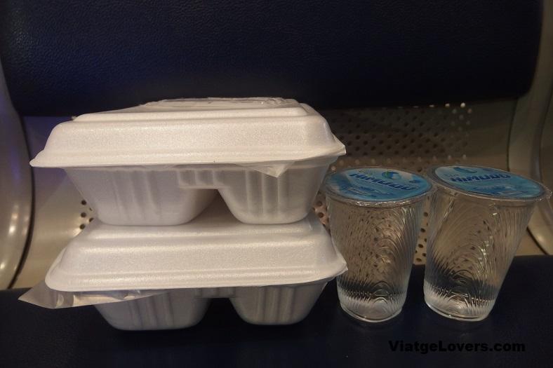 Cena a cargo de Lion Air