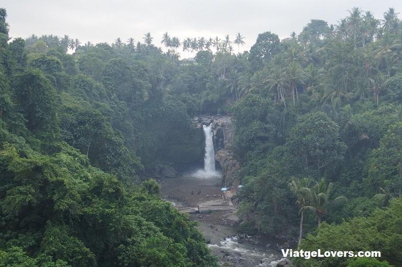 Tegenungan Waterfall desde la parte superior