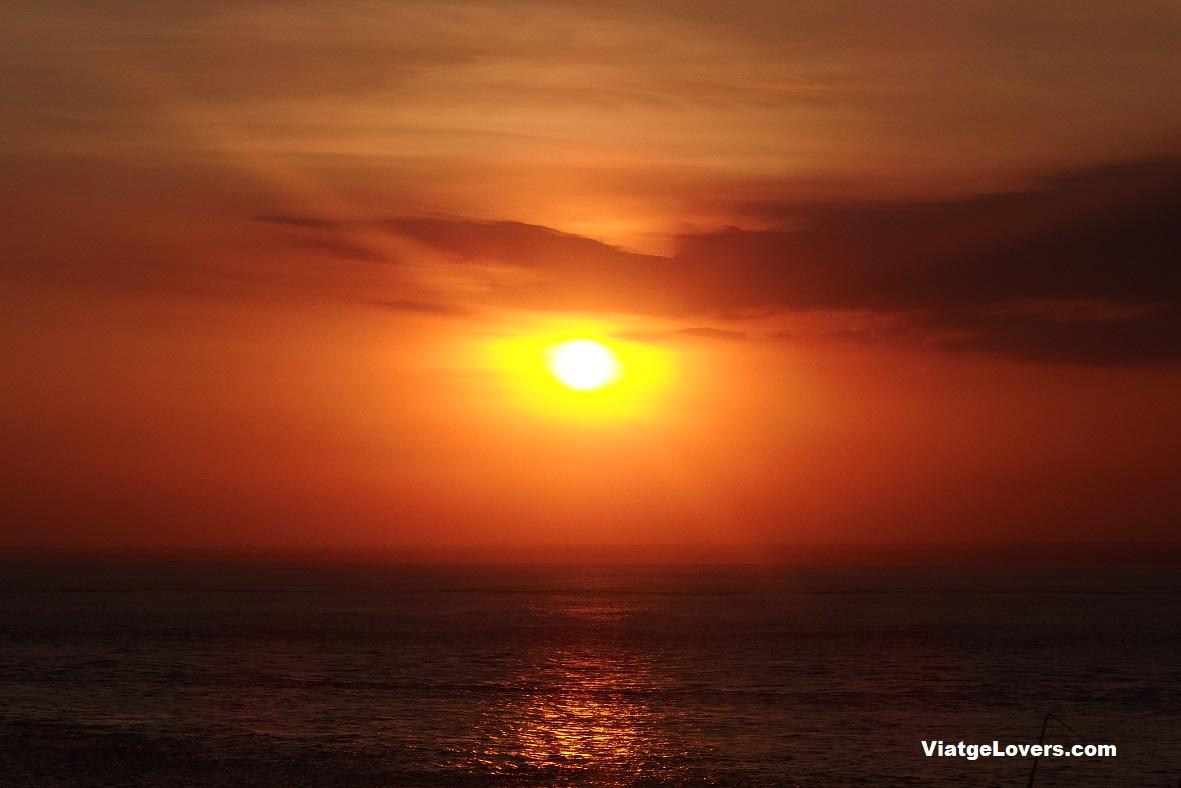 Puesta de sol desde el sunset view point. Impresionantes.
