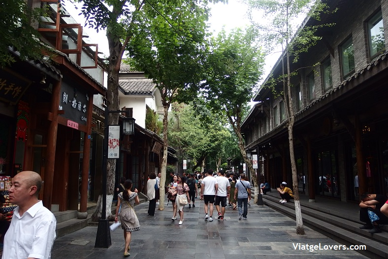 KuanZhai Alley district, Chengdu -ViatgeLovers.com