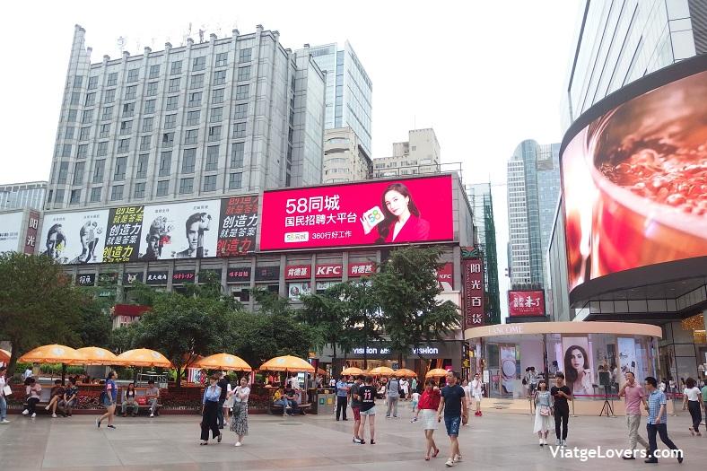 Chunxin Road, Chengdu -ViatgeLovers.com