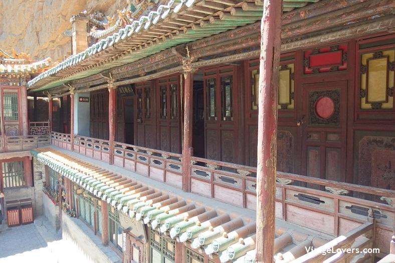 Monasterio Colgante Xuankong -ViatgeLovers.com
