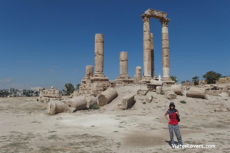 Templo de Hércules, Ciudadela de Amman -ViatgeLovers.com