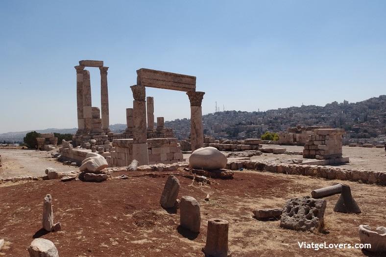 Ciudadela de Amman -ViatgeLovers.com