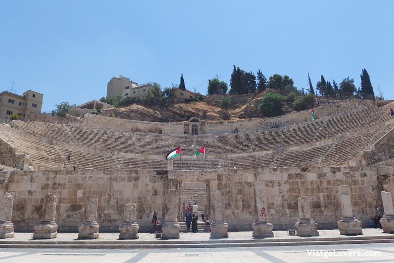 Anfiteatro Romano de Amman -ViatgeLovers.com