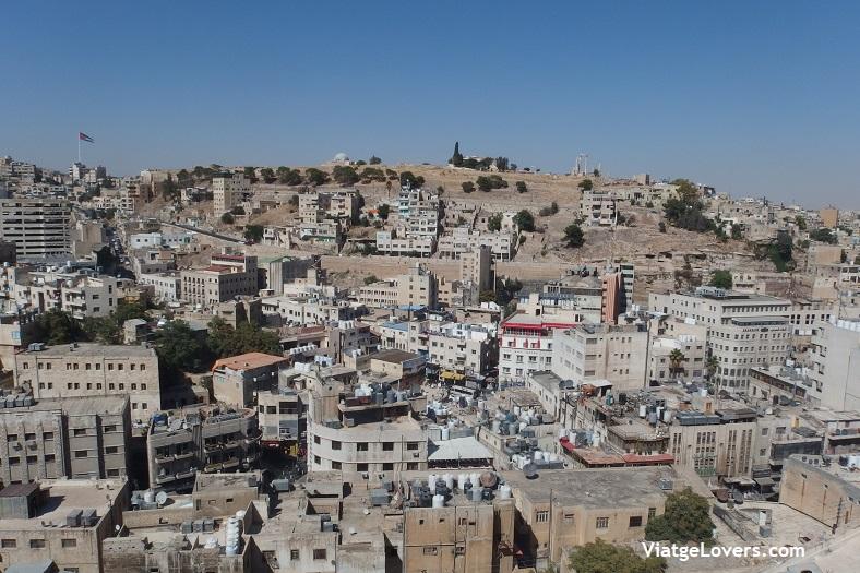 Vistas de Amman desde Wild Jordan