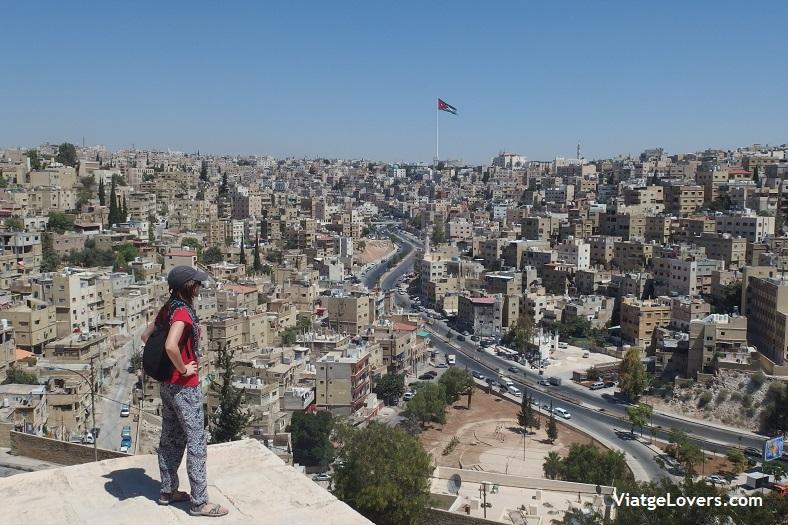 Vistas de Aman desde la Ciudadela -ViatgeLovers.com