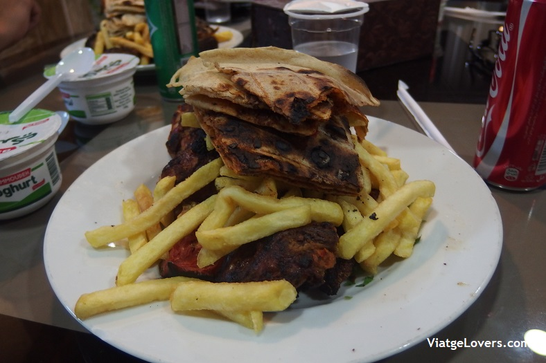 Cenando en Al Karak -ViatgeLovers.com