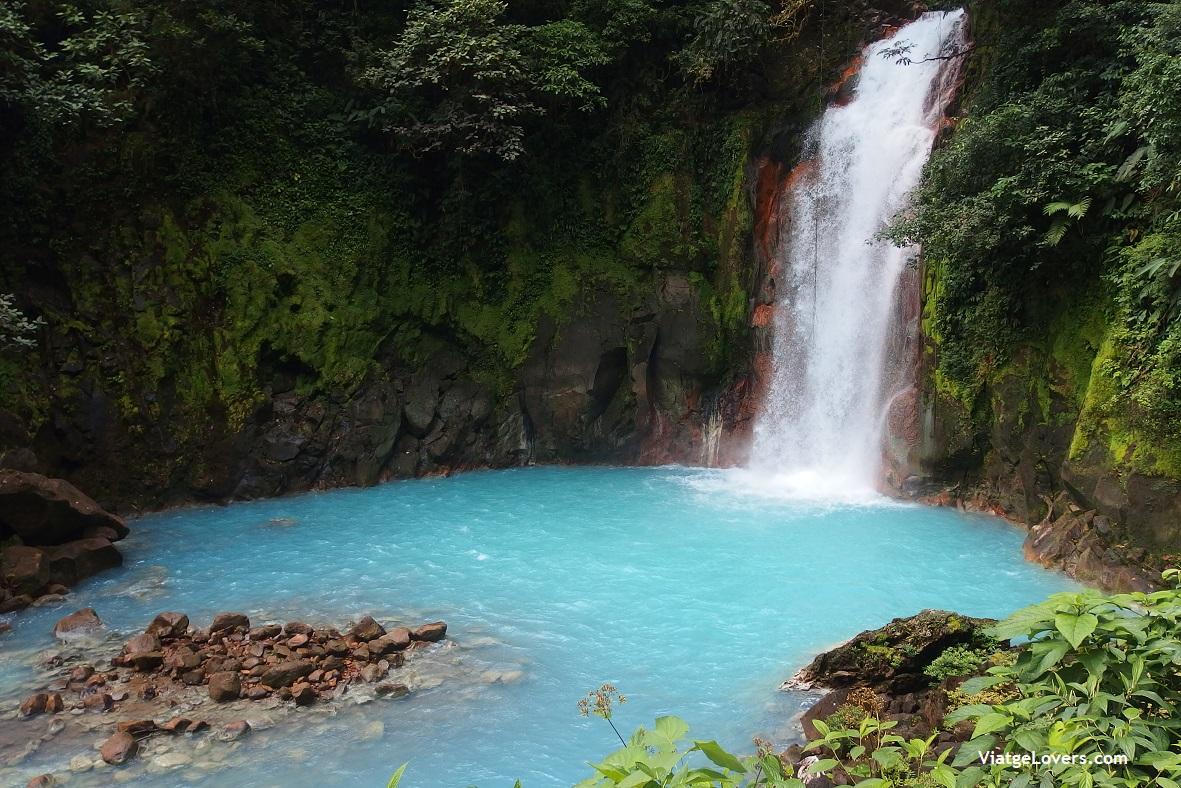 cascada Río Celeste, Costa Rica -ViatgeLovers.com