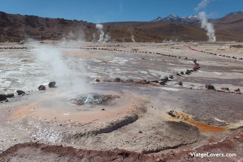 Géysers del Tatio, ruta por el desierto de Atacama -ViatgeLovers.com