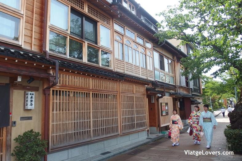 Barrio de las Gheisas. Japón -ViatgeLovers.com