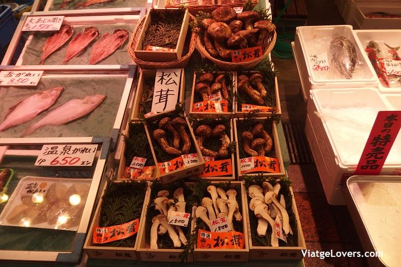 Mercado de Omicho. Japón -ViatgeLovers.com