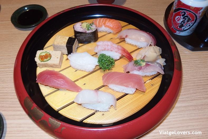 Sushi en Kanazawa. Japón -ViatgeLovers.com