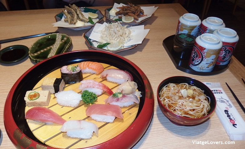 Cena en kanazawa -ViatgeLovers.com