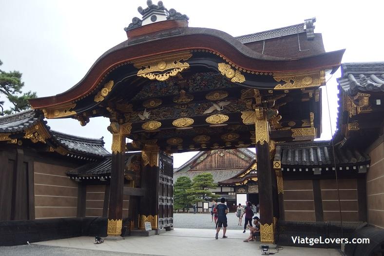 Nijo-jo. Kyoto. Japón -ViatgeLovers.com