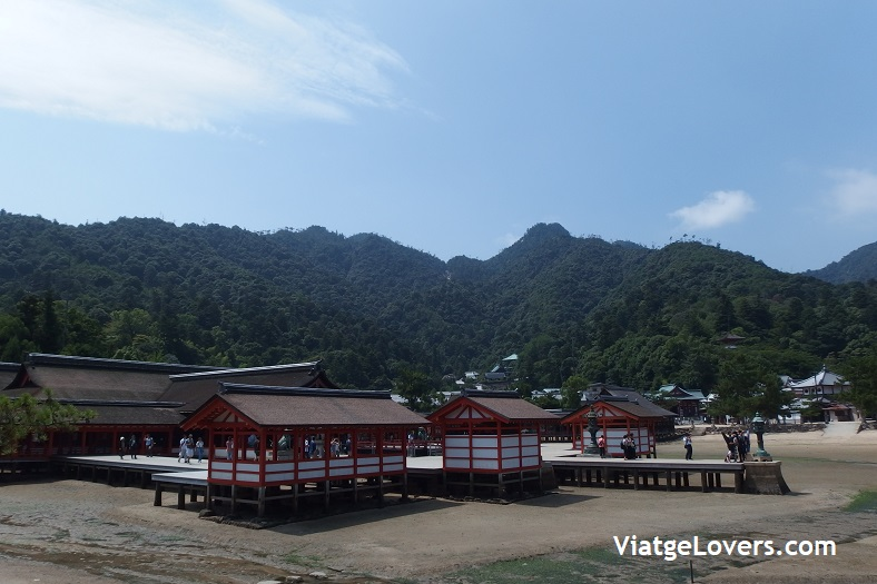 templo Itsukushima-Shrine, Miyajima. Japón -ViatgeLovers.com