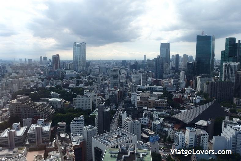Tokyo Tower. Ruta por Tokyo. Japón -ViatgeLovers.com