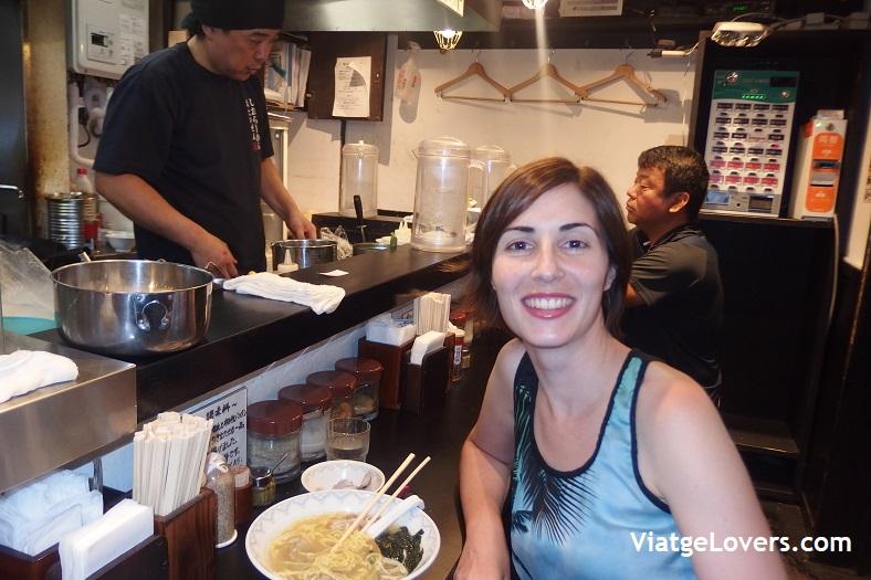 Cena en Tokyo. Japón -ViatgeLovers.com