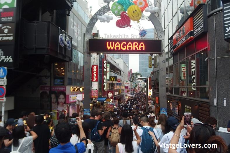 Takeshita-dori. Japón -ViatgeLovers.com