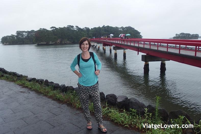 Fukuurabashi Bridge. Matsushima. Japón -ViatgeLovers.com
