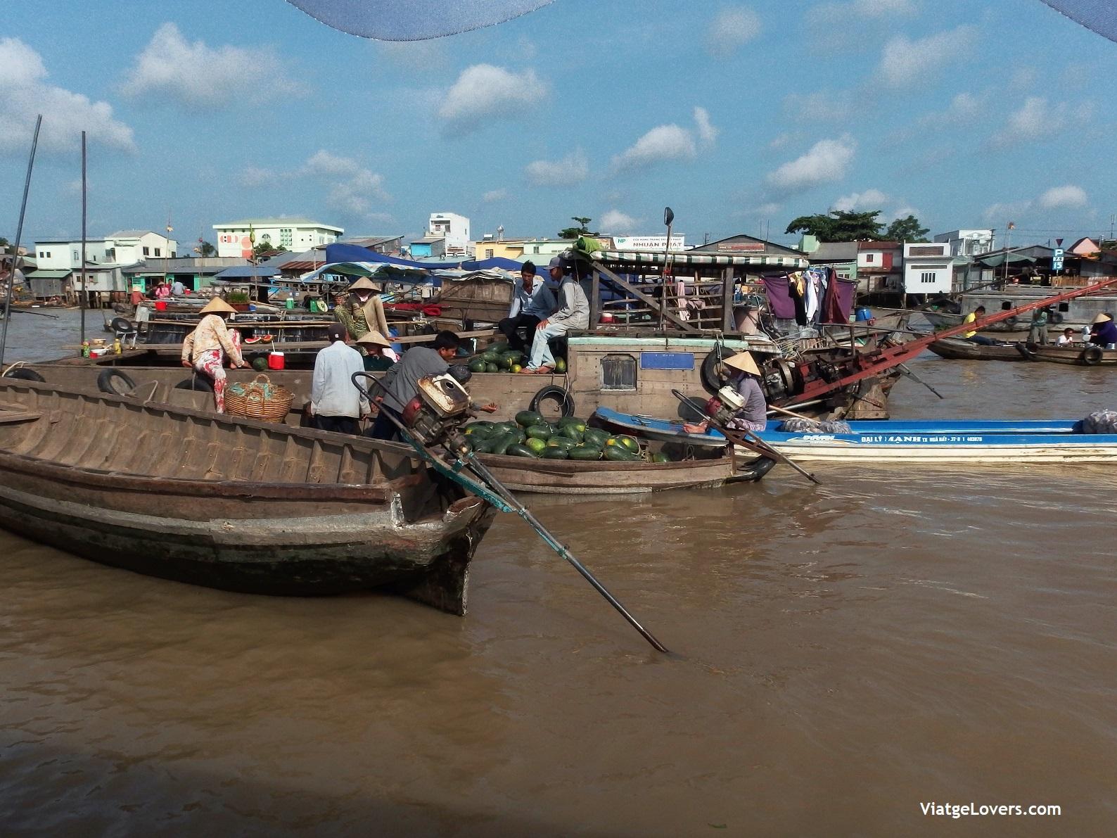 Delta Mekong. Vietnam -ViatgeLovers.com