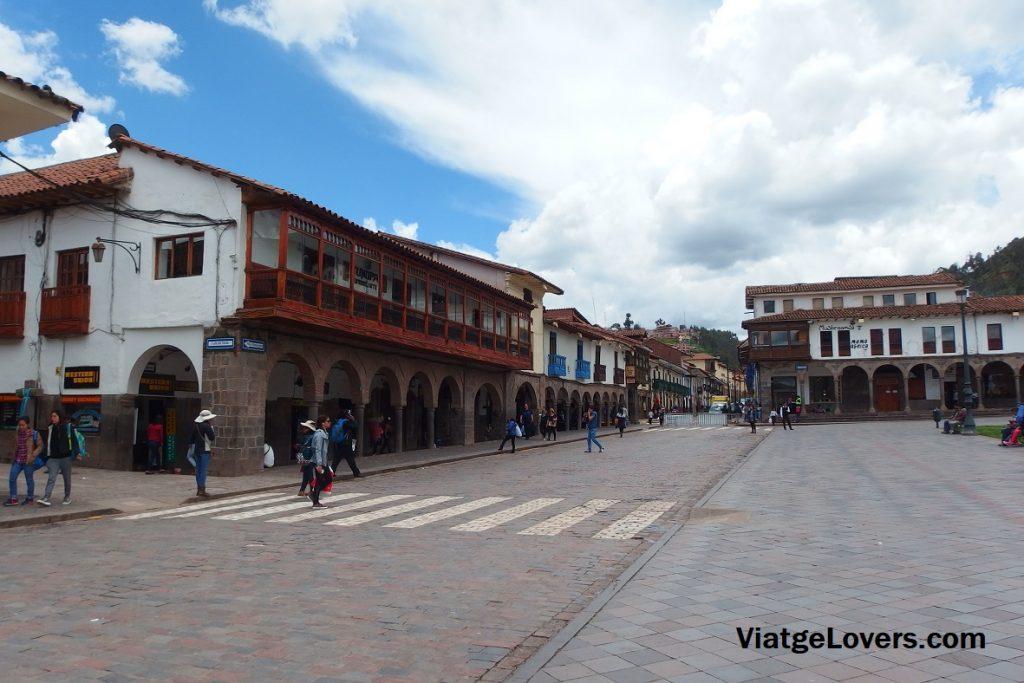 Plaza de Armas. Ruta por Cuzco. Perú -ViatgeLovers.com