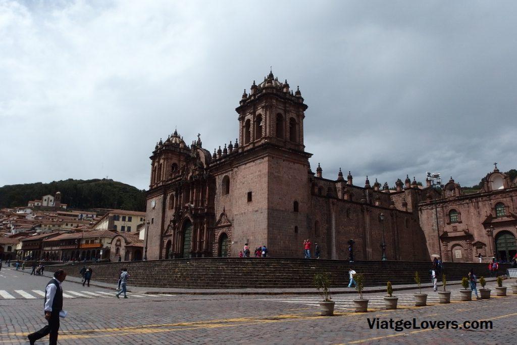 Catedral de Cusco. Ruta por Cuzco. Perú -ViatgeLovers.com