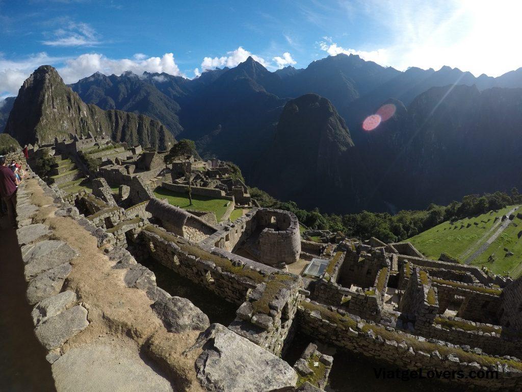Vistas desde El Templo del Sol Machu Picchu -ViatgeLovers.com
