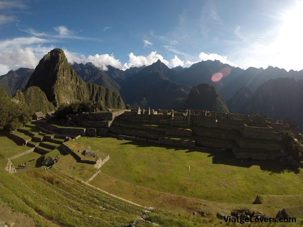 Vistas desde El Templo del Sol. Machu Picchu -ViatgeLovers.com