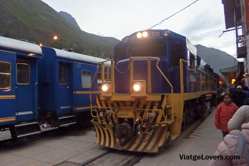 Tren Expedition. Ollantaytambo. Perú -ViatgeLovers.com