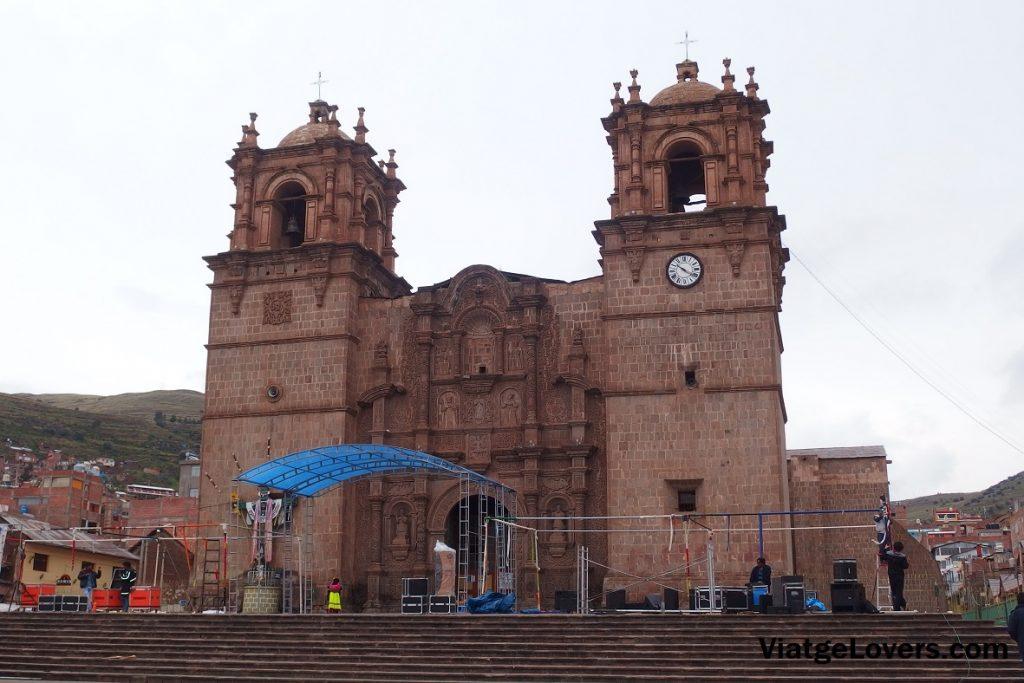 Catedral de Puno. Perú -ViatgeLovers.com