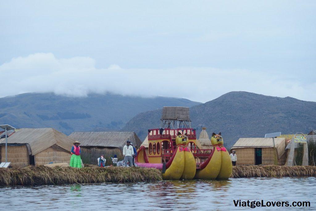 Uros, Titicaca. Perú -ViatgeLovers.com