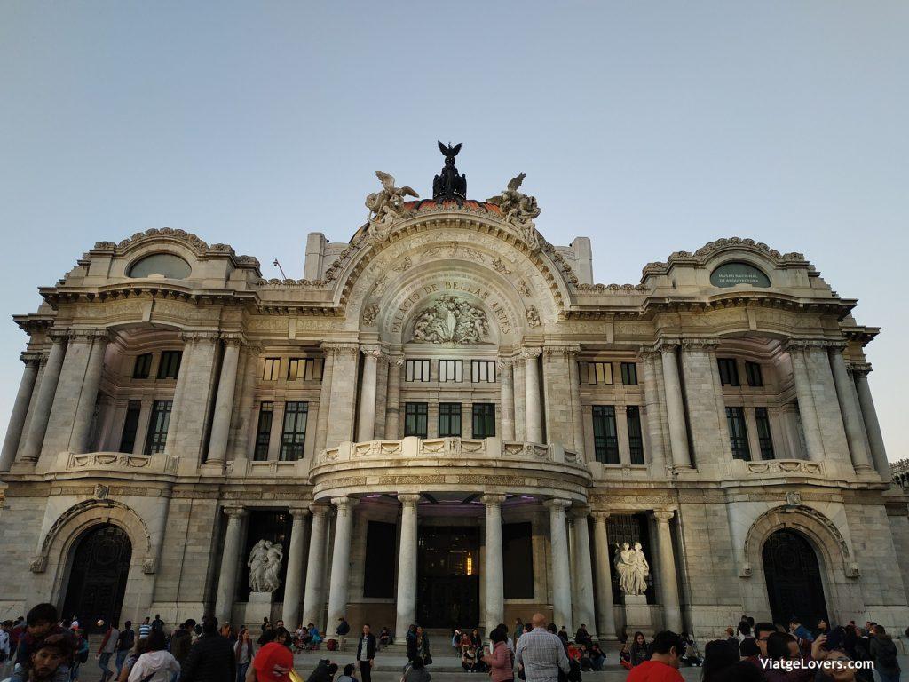 Palacio de Bellas Artes, México -ViatgeLovers.com