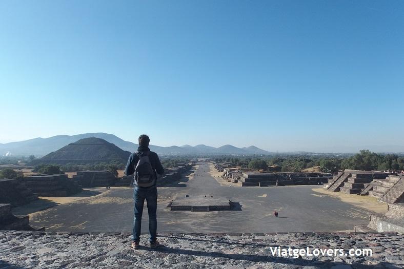 Pirámides de Teotihuacán. Ruta por México -ViatgeLovers.com