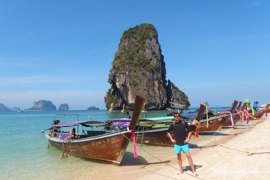 Railay Beach. Ruta por Tailandia -ViatgeLovers.com