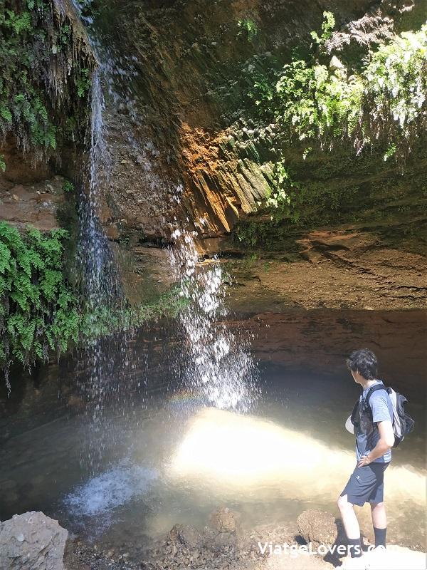 Salt del Cargol. Cascadas en Cabrera d'Anoia -ViatgeLovers.com